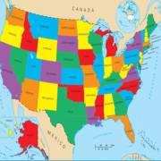 美国五十个州的英文名,原来这么读!