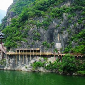 汉中-石门栈道