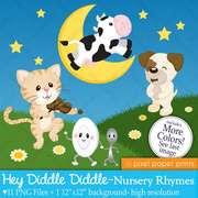 英文儿歌:Hey Diddle Diddle(嗨滴答滴答)-喜马拉雅fm