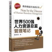 《世界500强人力资源总监管理笔记》