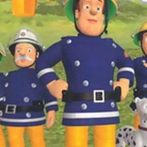 跟消防员山姆学做安全小卫士