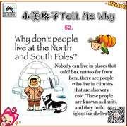 52. 为什么人们不生活在North and South Poles南极和北极?-喜马拉雅fm