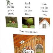 三三英文绘本领读群语音发音示范《rain on the