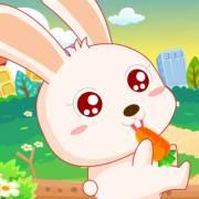 【1-2岁】小白兔-动物?#29616;?#23453;宝巴士·三字儿歌】