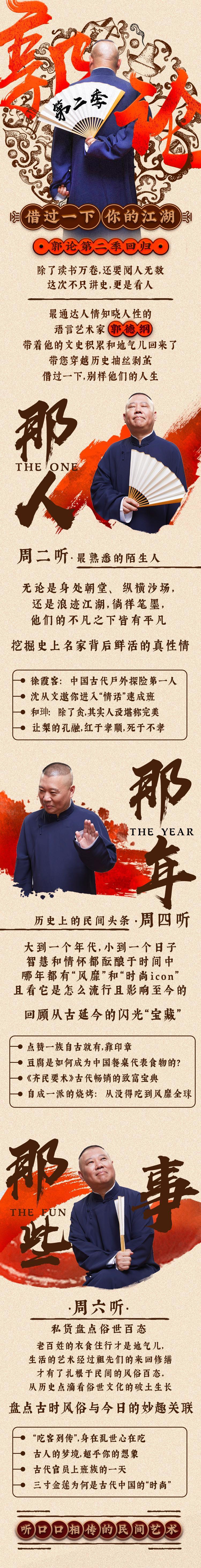 喜马拉雅VIP资源:郭论·郭德纲品俗文化史 第二季 音频下载