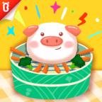 【蔬菜超人】让你胃口大开:甜甜小猪包【宝宝巴士故事】