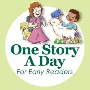 One Story A Day原声英文故事0-12岁小学版启蒙磨耳朵浸润-9月