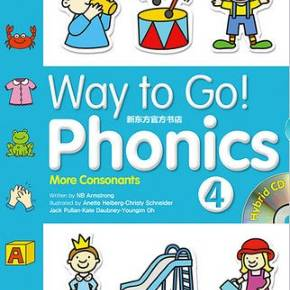 Way to Go! Phonics 4练习册