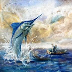 老人与海油画版_老人与海(英文版) 有声读物在线收听_外文原版_喜马拉雅FM