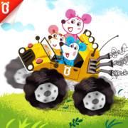 【三只老鼠】神奇的小汽车:小汽车变变变【宝宝巴士故事】