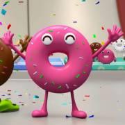【我爱美食】甜甜圈竞技比赛