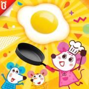 【三只老鼠】美食变大变大变大:神奇大大锅【宝宝巴士故事】