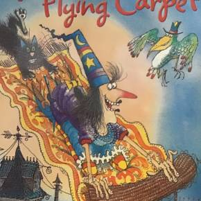 Winnie flying Carpet