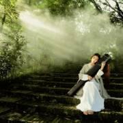 我爱你中国–古筝